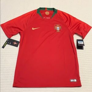 Nike Portugal Breathe Stadium Jersey Size Medium